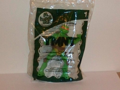 2007 Mcdonald's Happy Meal Toy: Teenage Mutant Ninja Turtles 4 1/2