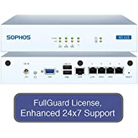 Sophos XG 115 Next-Gen UTM Firewall TotalProtect Bundle with 4 GE ports, FullGuard License, 24x7 Support - 1 Year