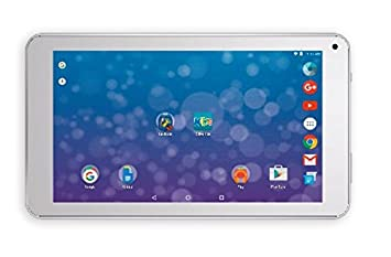 Qilive Kids 8GB Color Blanco - Tablet (Tableta para Jugar, Android, Pizarra,