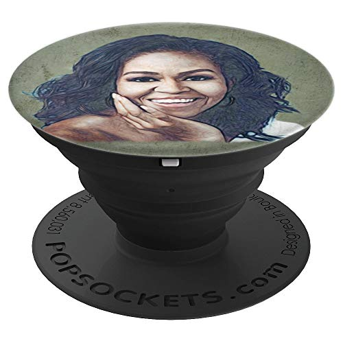 First Lady Michelle Obama - PopSockets Grip and Stand for Phones and Tablets