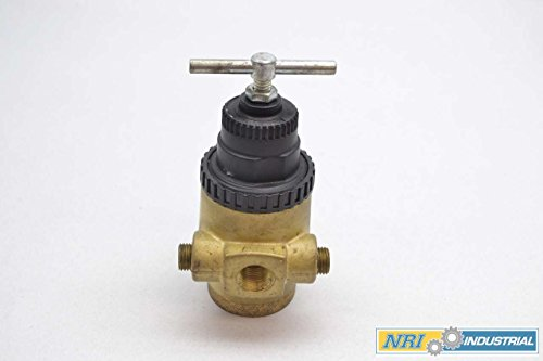 NORGREN R43-301-NNLA 3/8 IN NPT 400 PSI 5-125 PSI PNEUMATIC REGULATOR D426394 by Norgren