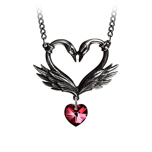 Dog Costume Black Swan (The Black Swan Romance Necklace by Alchemy Gothic, England)