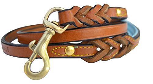 Soft Touch Collars Leather Braided