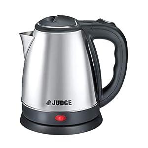 Judge by TTK Prestige Judge 1.2-Litre Electric Kettle (Silver/Black)
