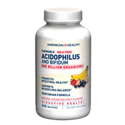 American Health - Acidophilus, Chew Asst Fruit Flavor 120 Ct ( Multi-Pack) ()