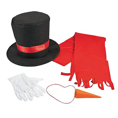 Fun Express Snowman Costume Kit (Adult)
