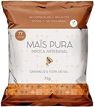 Pipoca Artesanal Sabor Caramelo e Flor de Sal Maïs Pura 75g