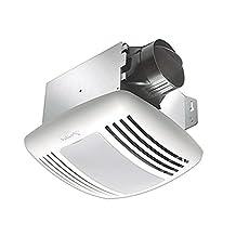 Delta Breez GreenBuilder 80 CFM Exhaust Fan/Light with Motion Sensor, Adjustable Humidity Sensor and Speed Control
