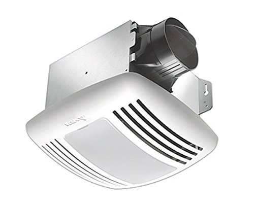 Delta Electronics (Americas) Ltd. GBR80MHL Exhaust Bath Fan/CFL Light, Dual Speed, Motion Adjustable Humidity Sensor, 80 CFM, With Motion & Humidity