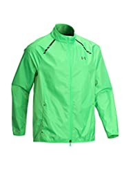 Under Armour Storm Full Zip Golf Jacket Green Large
