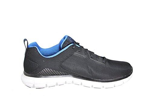 Synergy Sk51188 Skechers Power Switch Noir Homme bleu Baskets wqwxz5dar