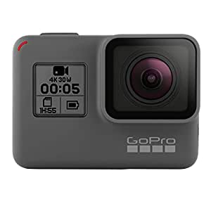 GoPro Hero5 Black - Cámara de 12 MP (4K, 1080 p, 720 p, WiFi) color gris y negro