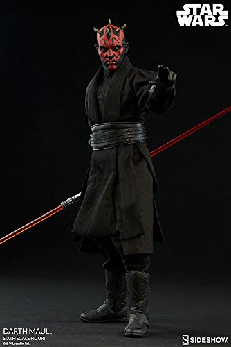 Sideshow Collectible Figure (Star Wars Darth Maul Duel on Naboo Sixth Scale Figure Sideshow Collectibles)