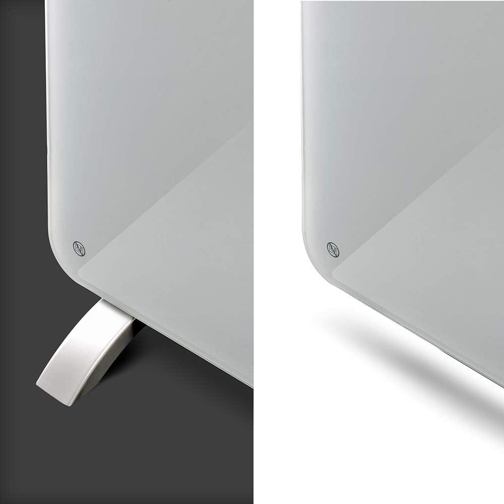APP gridinlux adapt/é aux salles de Bains. Radiateur en Cristal /électrique convecteur de Chaleur en Verre Homely WiFi Warm 1500W WiFi Silencieux Thermostat de Chauffage