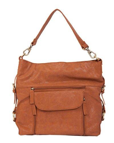 Kelly Moore 2 Sues Camera/Tablet Bag with Shoulder & Messenger Strap (Walnut)