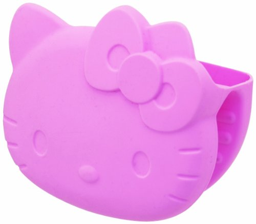 [Hello Kitty] silicone mitts food pickling machine OK TM useful kitchen toy series