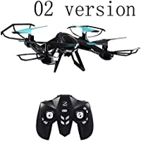 Kseey Support mobile phone control Aerial UAV Drone Quadcopter with Wifi Camera FHD FPV live Video Camera and 2.4Ghz 4CH 6-Axis Gyro RC Headless Quadcopter Drone UFO(02 version)