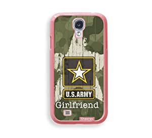 Shawnex US Army Girlfriend Camo ThinShell Protective Pink Plastic Samsung Galaxy S4 Case - Galaxy i9500 Case Snap On Case