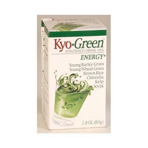 - Kyo-Green Powdered Drink Mix, 2.8 Ounce - 3 per case.