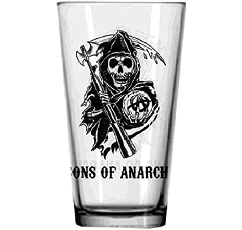JUST FUNKY Sons Of Anarchy Logo Pint by JUST FUNKY: Amazon.es: Juguetes y juegos