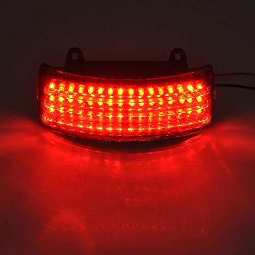 Feu arri/ère /à trois barres /à LED pour Harley Road//Street Glide FLHX FLTR.