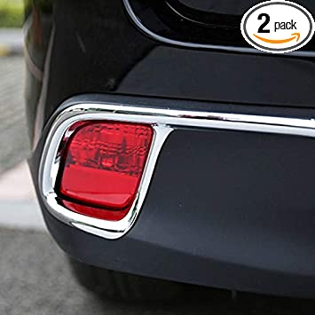 Chrome Trunk Bumper Protector Trim For Toyota Highlander 2015 2016
