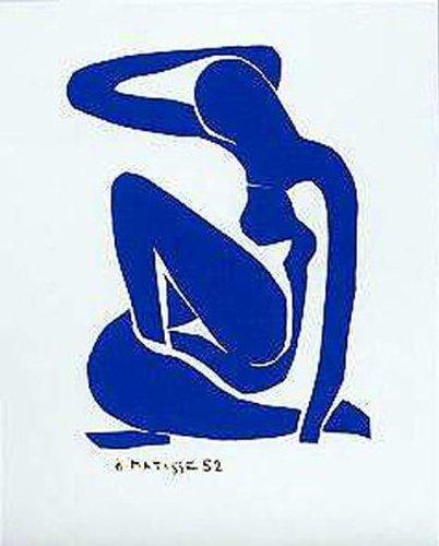 Blue Nude I by Henri Matisse 20 X 16 Art Print Poster