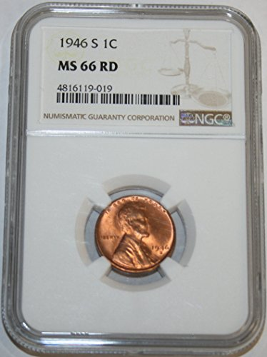 1946 S Lincoln Cent MS66 NGC