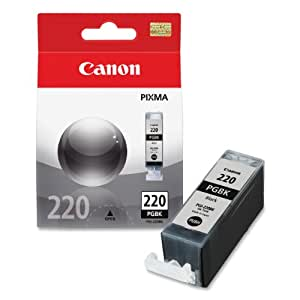 Canon PGI-220 Ink Tank in Retail Packaging-Black