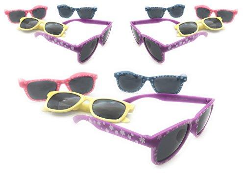 Oojami Kids Hibiscus Sunglasses Pack of 12