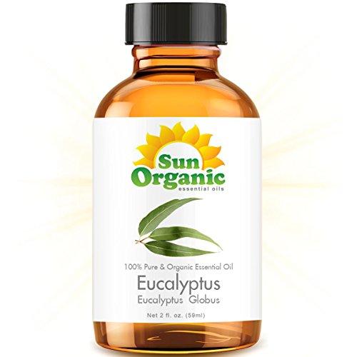 Органические эвкалипта (2 жидких унций) Эфирное масло 100% Pure - Лучшие 2 унции (59ml) - вс Органическая