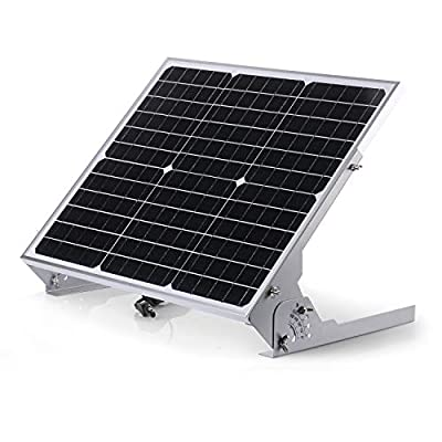 Sun Energise Waterproof 12V 30W Solar Battery Charger Pro - Built-in MPPT Charge Controller + 3-Stages Charging - 30 Watts Solar Panel Trickle Charger with Adjustable Mount Brackets + SAE Cable Kits : Garden & Outdoor
