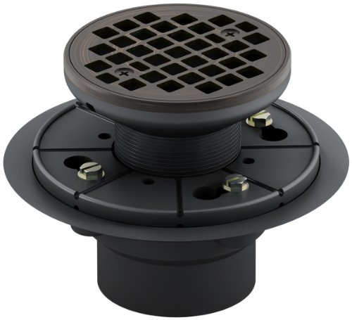 Kohler K-9135-2BZ Tile-In Round Shower Drain, Oil Rubbed Bronze