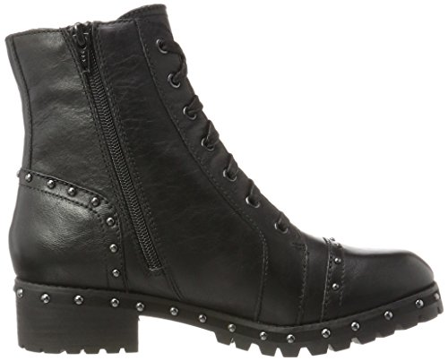 black Aldo Leather Femme Noir Bottes Motardes Cirien RqA8aX