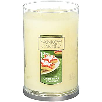 Amazon.com: Yankee Candle Christmas Cookie Small Single Wick ...