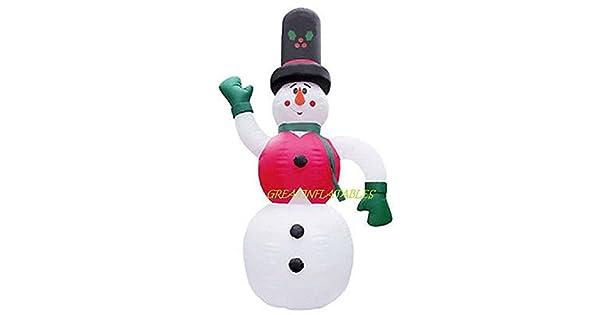 Amazon.com: Navidad Hinchable 20 ft Tall muñeco de nieve con ...