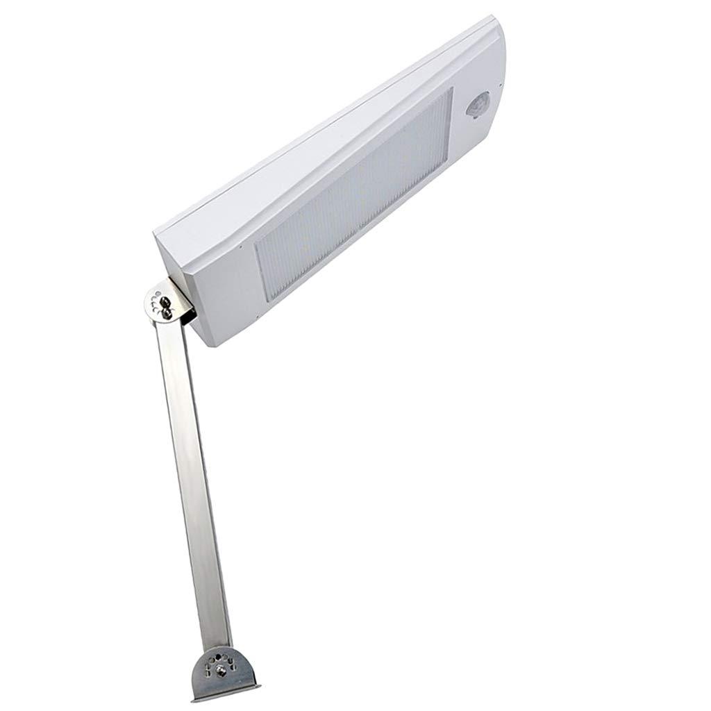 DYNWAVE 1PC LED Outdoor Landscape Light Motion Sensor Solar Lamp - White Warm Light