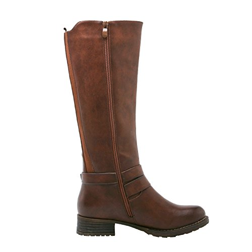 Global Win GLOBALWIN Damen 17YY11 Fashion Boots Braun