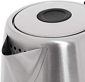 غلاية كهربائية من جيباس ، 1.8 لتر ، 1850 واط ، فضي ، GK6123