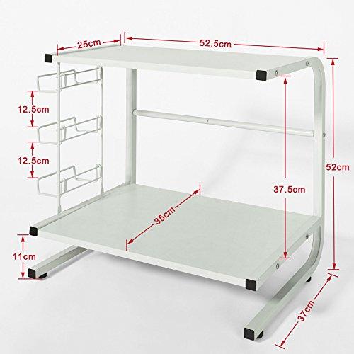 35 95 10 sobuy frg092w etagres de cuisine meuble. Black Bedroom Furniture Sets. Home Design Ideas