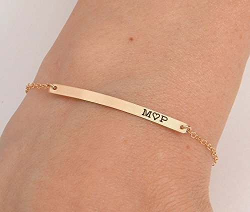 numeral bracelet roman bar main material product engraved