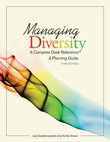 Download Managing Diversity: A Complete Desk Reference & Planning Guide pdf