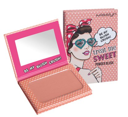 Misslyn Treat Me Sweet Powder Nr.48 BE MY BLUSH CRUSH!, 6 g