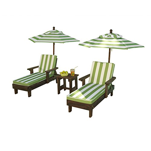 2 Chaise and Umbrella Set ()