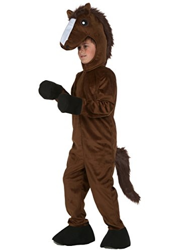 Kid Horse Costumes (Big Boys' Horse Costume Small)