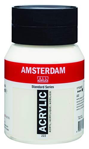 Royal Talens Amsterdam Standard Series Acrylic Color, 500ml Tube, Naples Yellow Light (17092222)