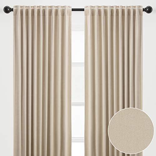Reviewed: Chanasya 2-Panel Solid Classy Velvet Blackout Curtains