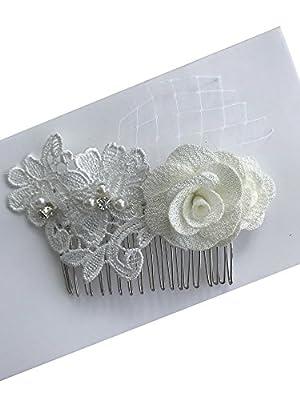 Wedding Hair Clip Flowers Bridal Hair Pin Wedding Headwearing H05