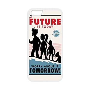 Futurama Poster Vector iPhone 6 4.7 Inch Cell Phone Case White PQN6053055374361