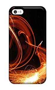 High-quality Durable Protection Case For Iphone 5/5s(fire Juggling)